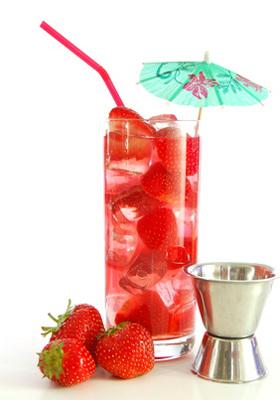 recette du punch aux fraises sans alcool. Black Bedroom Furniture Sets. Home Design Ideas