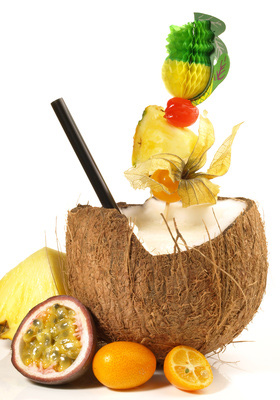 Recette du punch coco au rhum for Cocktail lait de coco